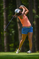 I.K. Kim (KOR) watches her tee shot on 2 during round 1 of the U.S. Women's Open Championship, Shoal Creek Country Club, at Birmingham, Alabama, USA. 5/31/2018.<br /> Picture: Golffile | Ken Murray<br /> <br /> All photo usage must carry mandatory copyright credit (&copy; Golffile | Ken Murray)
