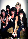 Ratt 1983 Guitarist Robbin Crosby (rear right) of Ratt in 1983. Crosby died at the age of 42 of AIDS complications. ....