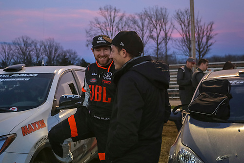 2017 Rally America<br /> Rally in the 100 Acre Wood<br /> Salem, MO USA<br /> Saturday 18 March 2017<br /> Ryan Millen, Rhianon Gelsomino<br /> &copy;2017, Gardner Automotive Communications, Inc.