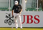 Adilson Da Silva of Brazil tees off the first hole during the 58th UBS Hong Kong Golf Open as part of the European Tour on 10 December 2016, at the Hong Kong Golf Club, Fanling, Hong Kong, China. Photo by Marcio Rodrigo Machado / Power Sport Images