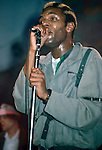 Ranking Roger of General Public performing live at The Ritz in NY in 1984.