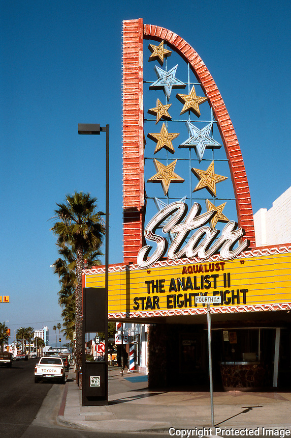 Movie Theatre: Oceanside, CA--Star Theatre.