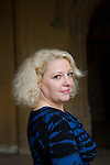 Rose Solari, novelist, at Christ Church during the FT Weekend Oxford Literary Festival, Oxford, UK. Sunday 30 March 2014.<br /> <br /> PHOTO COPYRIGHT Graham Harrison<br /> graham@grahamharrison.com<br /> <br /> Moral rights asserted.