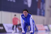 SPEED SKATING: SALT LAKE CITY: 19-11-2015, Utah Olympic Oval, ISU World Cup, training, Brittany Bowe (USA), ©foto Martin de Jong