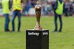 29.07.2017, Heinz-Dettmer-Stadion, Lohne, GER, FSP, SV Werder Bremen vs West Ham United<br /> <br /> im Bild<br /> Pokal / Troph&auml;e des betway Cup auf Podest, Feature<br /> <br /> Foto &copy; nordphoto / Ewert