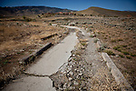 A cart path on the abandoned  Northgate Golf Course in Reno, Nevada, May 22, 2012.