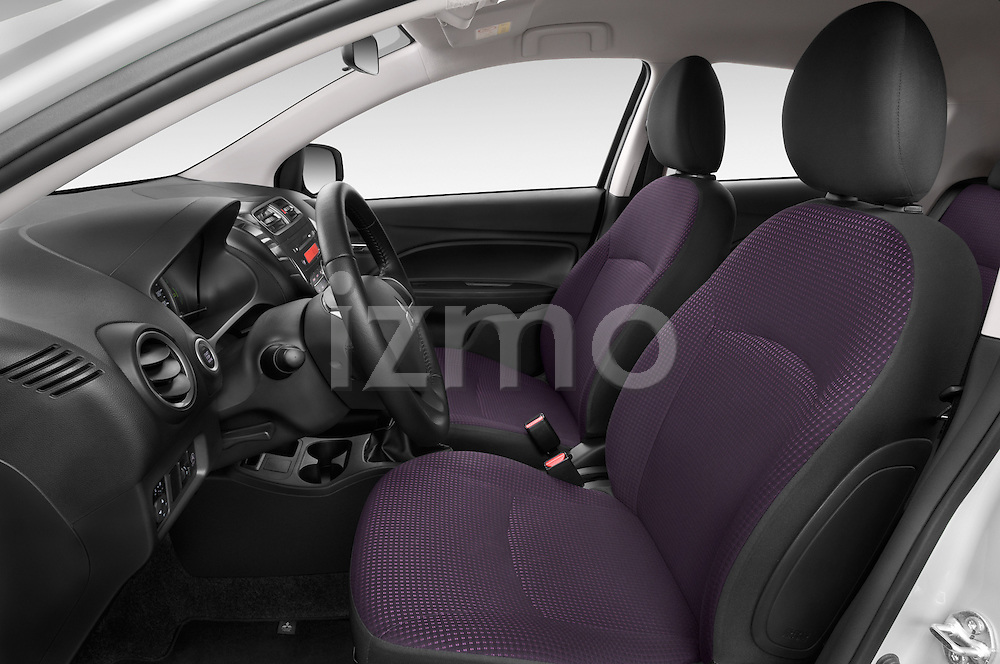 Front seat view of a 2014 Mitsubishi SPACE STAR 5 Door Hatchback 2WD
