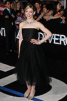 "WESTWOOD, LOS ANGELES, CA, USA - MARCH 18: Gracie Gold at the World Premiere Of Summit Entertainment's ""Divergent"" held at the Regency Bruin Theatre on March 18, 2014 in Westwood, Los Angeles, California, United States. (Photo by Xavier Collin/Celebrity Monitor)"