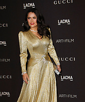 Salma Hayek Pinault attends 2018 LACMA Art + Film Gala at LACMA on November 3, 2018 in Los Angeles, California.    <br /> CAP/MPI/IS<br /> &copy;IS/MPI/Capital Pictures