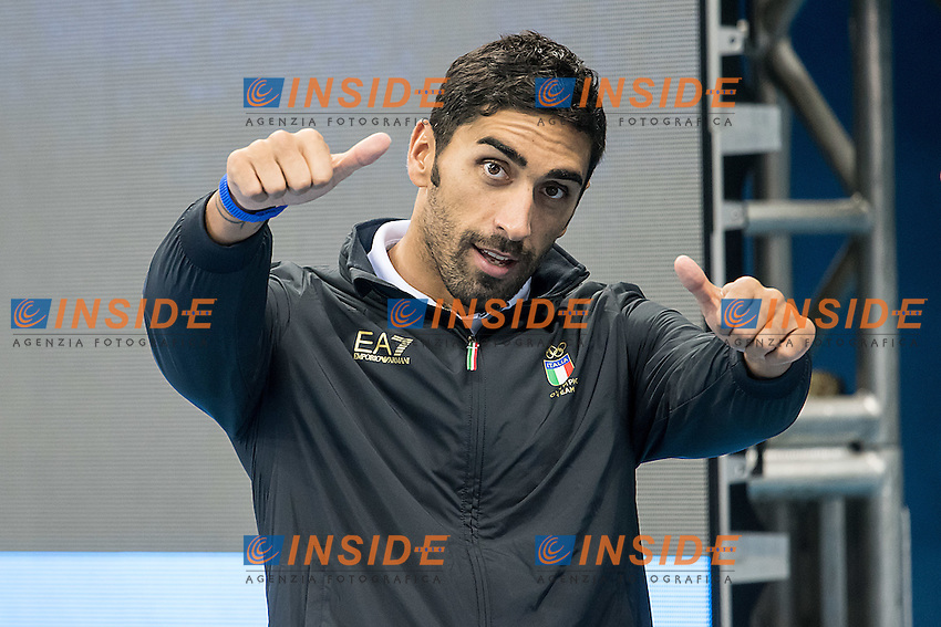 Filippo Magnini ITA Italy<br /> training<br /> Rio de Janeiro 04-08-2016 XXXI Olympic Games <br /> Olympic Aquatics Stadium <br /> Swimming <br /> Photo Giorgio Scala/Deepbluemedia/Insidefoto