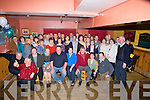 39+1=40: What a surprise Maurice McElligott got as he arrived at McElligotts Bar, Ardfert on Friday night as many of his Family and friends gathered to sing  Happy Birthday as he arrived at McElligotts Bar. Ardfert (Maurice is seated centre).........................