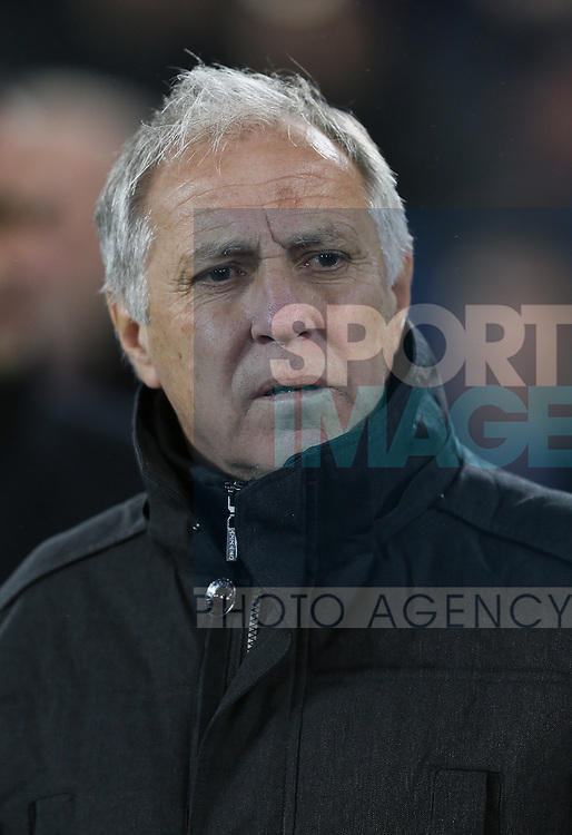Rene Girard manager of Lille - UEFA Europa League - Everton vs  Lille - Goodison Park Stadium - Liverpool - England - 6th November 2014 - Pic Simon Bellis/Sportimage
