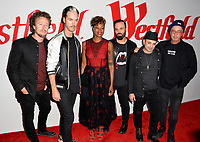 Fitz and The Tantrums  at the opening celebration for Westfield Century City at Century City, Los Angeles, USA 03 Oct. 2017<br /> Picture: Paul Smith/Featureflash/SilverHub 0208 004 5359 sales@silverhubmedia.com