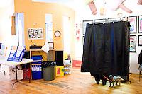 Voting Booth.  182 Lafayette Street.  Children's Musuem