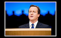 David Cameron MP - Conservative Party Conference -  Birmingham International Convention Centre - 1st October 2008