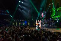 SAO PAULO, SP, 01.06,2018 - SHOW -SP - Os cantores brasileiros Ivete Sangalo e Gilberto Gil durante show no Estádio Allianz Parque na regiao oeste da cidade de Sao Paulo, nesta sexta-feira, 01. (Foto: Bruna Grassi/Brazil Photo Press)
