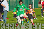 St Brendan's Park's James Duggan and Kingdom Boys Jack O'Shea.