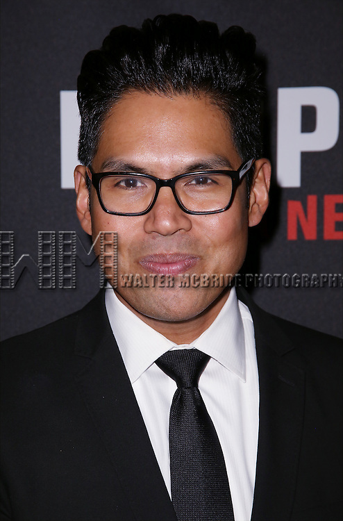 Clint Ramos attends the 'Eclipsed' broadway opening night after party at Gotham Hall on March 6, 2016 in New York City.