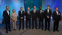 SÃO PAULO, SP, 02.10.2018 - ELEIÇÕES-2018 - Candidatos ao Governo do Estado de São Paulo, durante o debate na Rede Globo, nesta terça-feira, 02, em São Paulo. (Foto: Levi Bianco/Brazil Photo Press)
