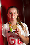 Olympic gold medalist Elinor Barker<br /> BBC Wales<br /> 01.09.16<br /> ©Steve Pope Sportingwales