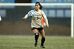 21 November 2014: Colorado's Olivia Pappalardo. The University of North Carolina Tar Heels hosted the University of Colorado Buffaloes at Fetzer Field in Chapel Hill, NC in a 2014 NCAA Division I Women's Soccer Tournament Second Round match. UNC won the game 1-0 in overtime.