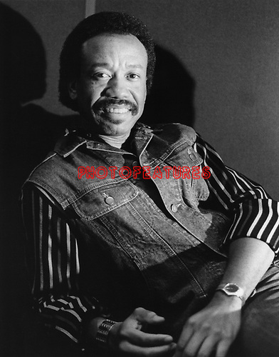 Earth Wind & Fire 1985 Maurice White.© Chris Walter