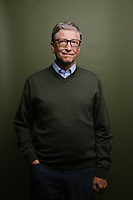 Bill Gates, photographed in Seattle at the headquarters of the Bill and Melinda Gates Foundation. Photo by Daniel Berman. Embargoed until Sept. 13, 2017.