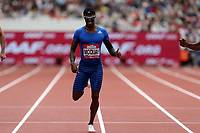 Tony Mcquay of USA competes in the menís 400 metres during the Muller Anniversary Games at The London Stadium on 9th July 2017