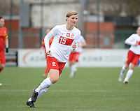 20140208 - OOSTAKKER , BELGIUM : Polish Agnieszka Winczo pictured during a friendly soccer match between the women teams of Belgium and Poland , Saturday 8 February 2014 in Oostakker. PHOTO DAVID CATRY