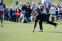 Cristie Kerr (USA) sinks her putt on 18 during round 4 of  the Volunteers of America Texas Shootout Presented by JTBC, at the Las Colinas Country Club in Irving, Texas, USA. 4/30/2017.<br /> Picture: Golffile | Ken Murray<br /> <br /> <br /> All photo usage must carry mandatory copyright credit (&copy; Golffile | Ken Murray)