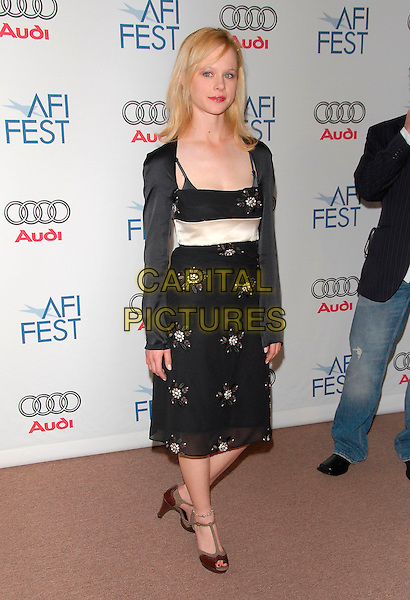 THORA BIRCH.attends AFI Film Festival Screening of Lies & Alibis held at the Arclight Rooftop in Hollywood, California, USA, November 10th 2006..full length black dress shoes shrug.Ref: DVS.www.capitalpictures.com.sales@capitalpictures.com.©Debbie VanStory/Capital Pictures