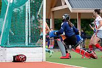 HAREN - Hockey, Toernooi GHHC Harener Holt, GHHC - Club an der Alster, voorbereiding seizoen 2017-2018, 03-09-2017,  GHHC speelster  Poolse aanwinst Amelia Katerna komt te laat om te scoren