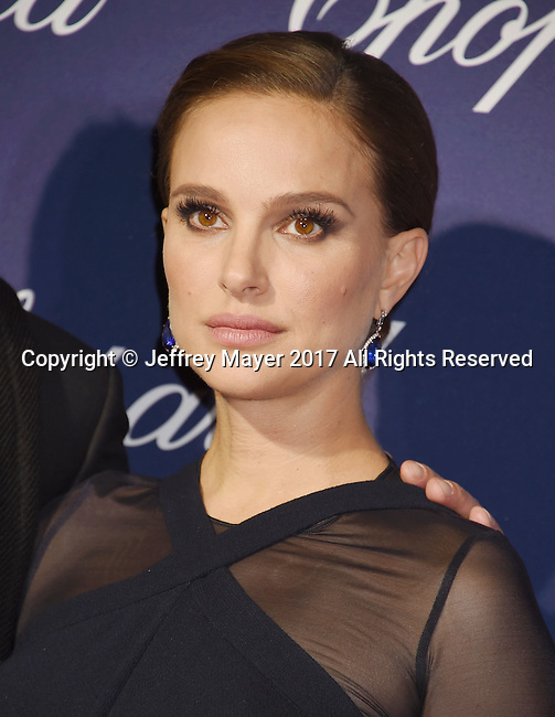 PALM SPRINGS, CA - JANUARY 02: Actress Natalie Portman attends the 28th Annual Palm Springs International Film Festival Film Awards Gala at the Palm Springs Convention Center on January 2, 2017 in Palm Springs, California.