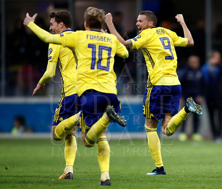 Soccer Football - 2018 World Cup Qualifications - Europe - Italy vs Sweden - San Siro, Milan, Italy - November 13, 2017 <br />