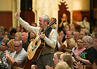July 19, 2011; Current and Alumni members of the Notre Dame Folk Choir perform at St. Boniface Church in Louisville, Kentucky as part of the 2011 National Pastoral Musicians' Conference. ..Photo by Matt Cashore/University of Notre Dame