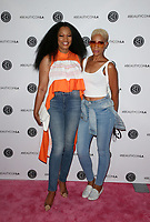 11 August 2019 - Los Angeles, California - Garcelle Beauvais, Kim Nicole. Beautycon Festival Los Angeles 2019 - Day 2 held at Los Angeles Convention Center. <br /> CAP/MPIFS<br /> ©MPIFS/Capital Pictures