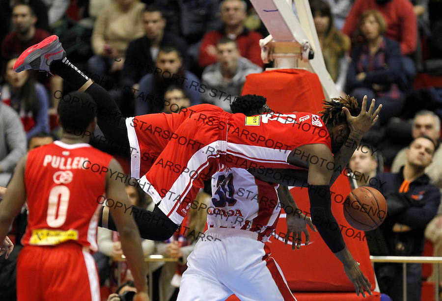 Kosarka ABA League season 2015-2016<br /> Crvena Zvezda v Cedevita<br /> \William Henry Walker and Quincy Miller<br /> Beograd, 04.01.2015.<br /> foto: Srdjan Stevanovic/Starsportphoto&copy;