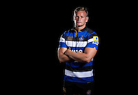 Chris Cook poses for a portrait at a Bath Rugby photocall. Bath Rugby Media Day on August 24, 2016 at Farleigh House in Bath, England. Photo by: Rogan Thomson / JMP / Onside Images