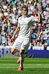 Real Madrid´s James Rodriguez during 2014-15 La Liga match between Real Madrid and Granada at Santiago Bernabeu stadium in Madrid, Spain. April 05, 2015. (ALTERPHOTOS/Luis Fernandez)