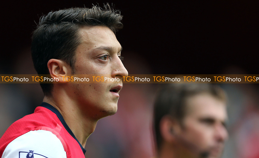 Mesut Ozil of Arsenal - Arsenal vs Stoke City, Barclays Premier League at the Emirates, Arsenal - 22/09/13 - MANDATORY CREDIT: Rob Newell/TGSPHOTO - Self billing applies where appropriate - 0845 094 6026 - contact@tgsphoto.co.uk - NO UNPAID USE