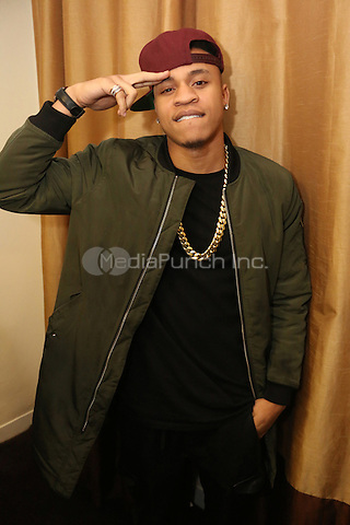 NEW YORK, NY - DECEMBER 18, 2012 50 Rotimi backstage at the The Breakfast Club 5th Anniversary, December 18, 2015 at Manhattan Center in New York City. Credit: Walik Goshorn/MediaPunch