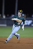 Siena Saints outfielder Alex Tuccio (20) runs the bases during the opening game of the season against the UCF Knights on February 13, 2015 at Jay Bergman Field in Orlando, Florida.  UCF defeated Siena 4-1.  (Mike Janes/Four Seam Images)
