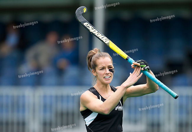 23/06/2015<br /> HWL Semi Final Antwerp Belgium 2015<br /> New Zealand v India Women<br /> Petrea Webster<br /> Photo: Grant Treeby