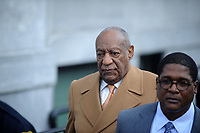 NORRISTOWN, PA - APRIL 12: Actor/ stand-up comedian Bill Cosby leaving the Montgomery County Courthouse during the fourth day of his retrial for sexual assault charges on April 12, 2018 in Norristown, Pennsylvania. A former Temple University employee alleges that the entertainer drugged and molested her in 2004 at his home in suburban Philadelphia. More than 40 women have accused the 80 year old entertainer of sexual assault.<br /> People:  Bill Cosby<br /> CAP/MPI122<br /> &copy;MPI122/Capital Pictures