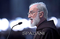 "Raniero Cantalamessa, whose title is ""preacher of pontifical ...Pope Francis the ceremony of the Good Friday Passion of the Lord Mass in Saint Peter's Basilica at the Vatican.April 18,2014"