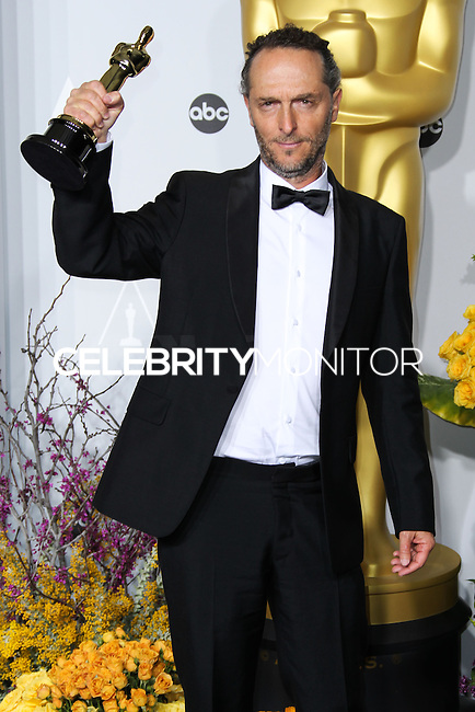 HOLLYWOOD, LOS ANGELES, CA, USA - MARCH 02: Emmanuel Lubezki at the 86th Annual Academy Awards - Press Room held at Dolby Theatre on March 2, 2014 in Hollywood, Los Angeles, California, United States. (Photo by Xavier Collin/Celebrity Monitor)