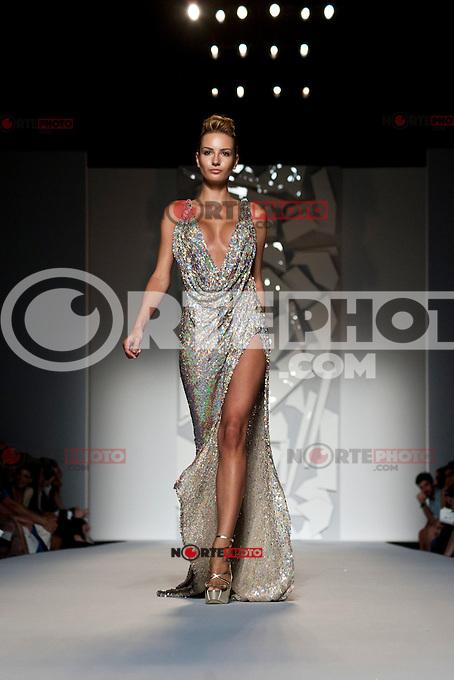 July 10, 2012: Rome, Italy- Abed Mahfouz fashion show during the 2012 Altamoda Altaroma 2012. Credit: Alessandro Serrano/AGF/MediaPunch Inc. ***NO ITALY*** *NORTEPHOTO*<br /> **SOLO*VENTA*EN*MEXICO**<br /> **CREDITO*OBLIGATORIO** <br /> **No*Venta*A*Terceros**<br /> **No*Sale*So*third**<br /> *** No*Se*Permite Hacer Archivo**<br /> **No*Sale*So*third**