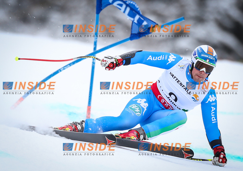 06.02.2013, Planai, Schladming, AUT, FIS Weltmeisterschaften Ski Alpin, Super G, Herren, im Bild Peter Fill (ITA) // Peter Fill of Italy in action during Mens SuperG at the FIS Ski World Championships 2013 at the Planai Course, Schladming, Austria on 2013/02/06. EXPA Pictures © 2013, PhotoCredit: EXPA/ Johann Groder .Schladming 6/2/2013 .Mondiali Sci 2013.SuperG Uomini.Foto Insidefoto - ITALY ONLY