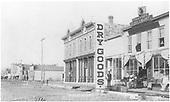 Gunnison Main Street scene.<br /> Gunnison, CO  Taken by Dean, Frank E. - 1882