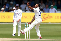 Ravi Bopara in bowling action for Essex during Essex CCC vs Warwickshire CCC, Specsavers County Championship Division 1 Cricket at The Cloudfm County Ground on 21st June 2017